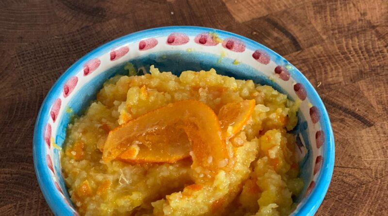 pasta d'arancia